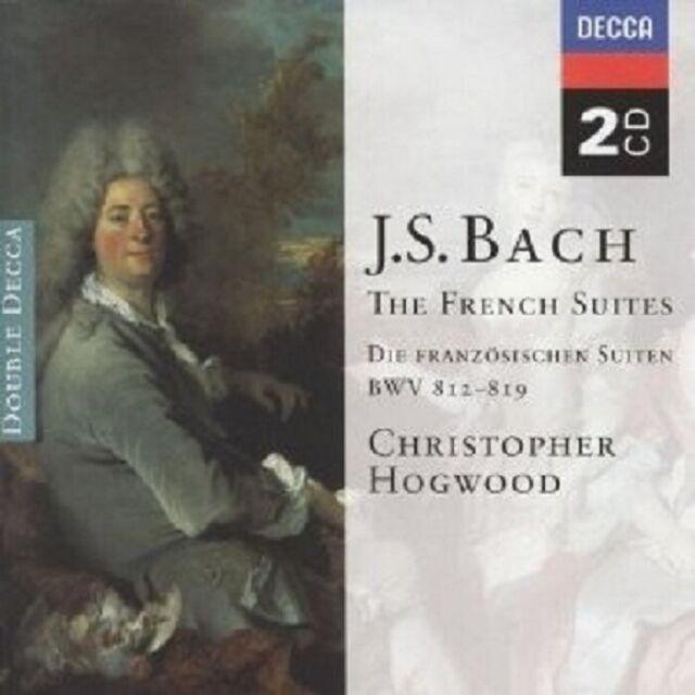 CHRISTOPHER HOGWOOD - FRANZÖSISCHE SUITEN BWV 812-817 2 CD NEU