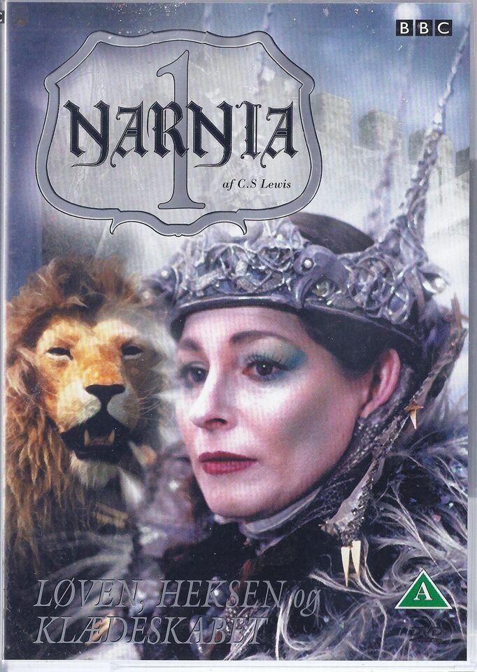 8036. NARNIA, DVD, eventyr
