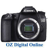 Canon Eos 70d Body Digital Slr Camera 1 Year Au Wty