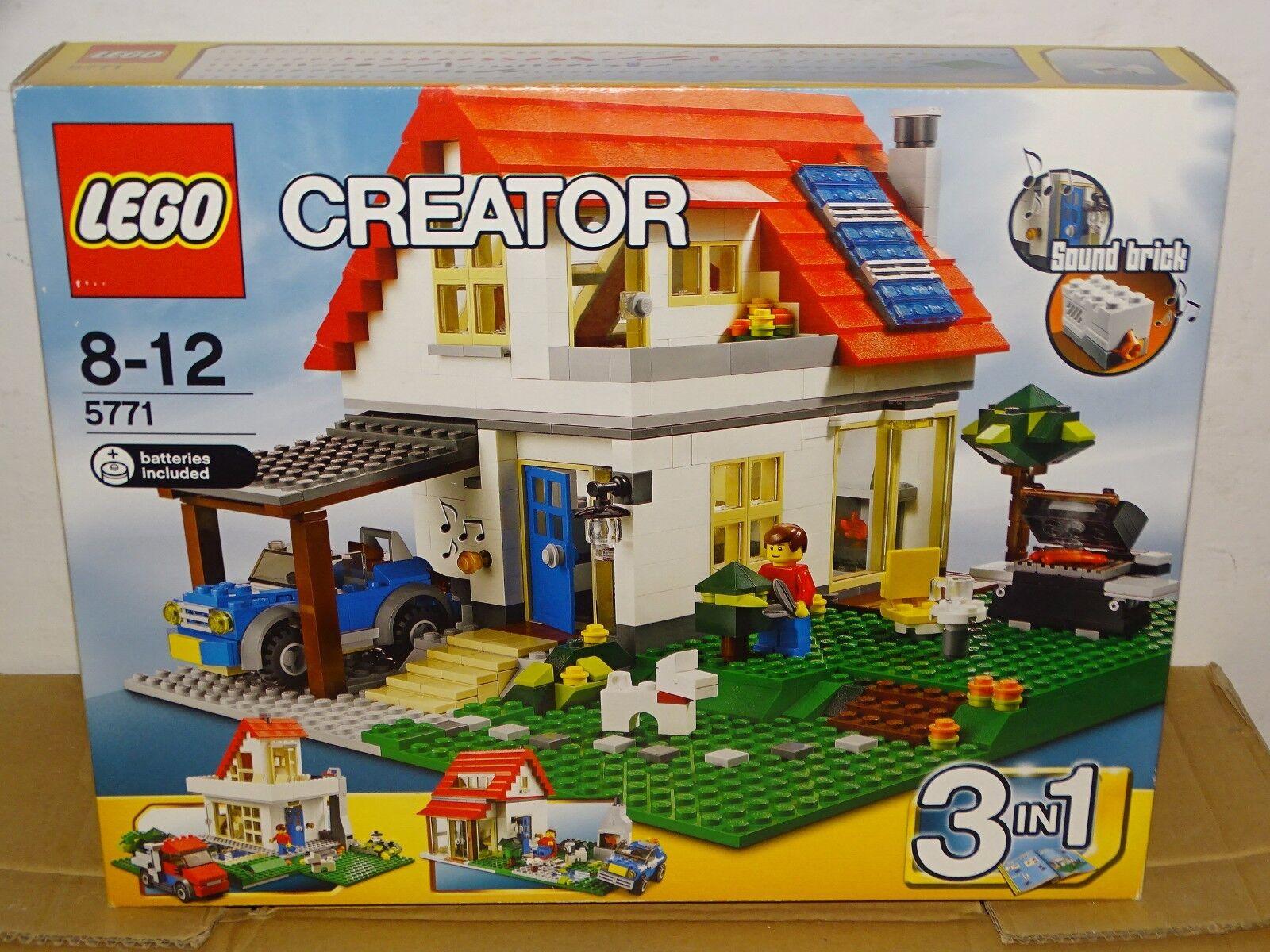 LEGO 5771 CREATOR HILLSIDE HOUSE NEU OVP MISB