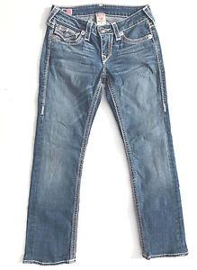 Us5 True 27 Au9 499 Rrp da Qt' Ragazze Euc Jeans Big 'Billy Indigo donna Religion rUp8Rqr