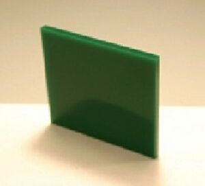 Details about Dark Green Translucent Acrylic Plexiglass sheet 1/8