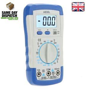 Digital-Multi-meter-AC-DC-Voltmeter-Ammeter-Ohmmeter-Volt-Tester-Meter-A830L-UK