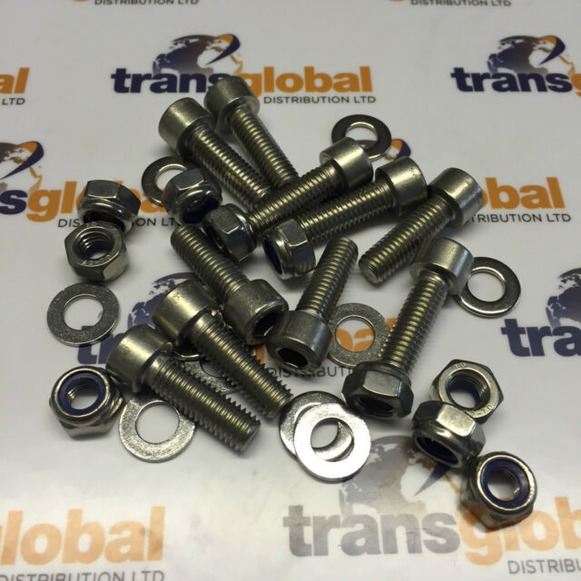 Land Rover Defender Stainless Steel Rear Crossmember Bolt Kit Bearmach Parts
