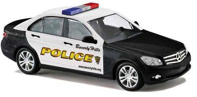 Busch 43604-1//87//h0 MERCEDES-BENZ CLASSE C-Beverly Hills Police-NUOVO