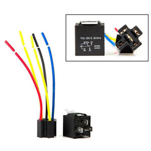 s l300 10x car dc 12v volt 30 40a spdt automotive 5 pin 5 wire relay Fan Center Relay Five Wire at bakdesigns.co