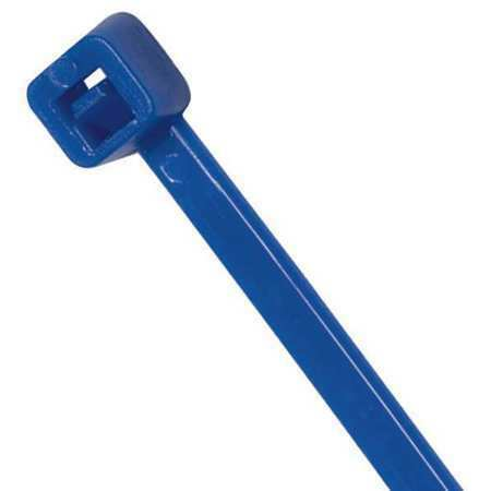 """POWER FIRST 36J229 11.8/"""" L Cable Tie BL PK 100"""