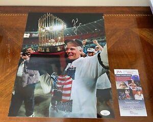 Ted Turner Signed 11x14 Photo- JSA Authenticated- MLB- Atlanta Braves- COA