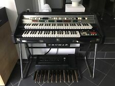 Crumar Organizer 2 OR/2 Vintage Transistor Organ RARE w/ Pedal and stand 1980´s