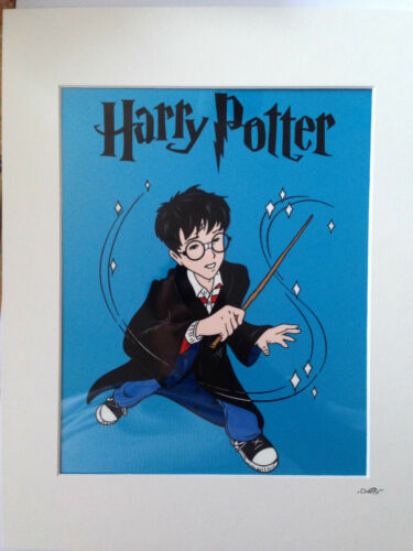 Hand Drawn /& Hand Painted Cel Harry Potter Wand