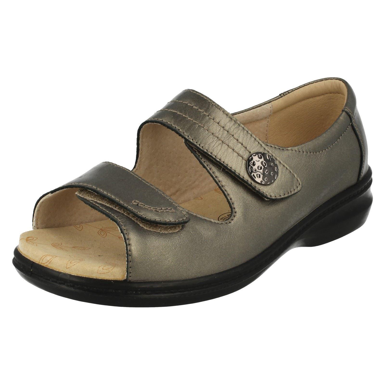 Padders Donna Riva 2 a Strappo Cinturino calzata larga casual Sandali Estivi | Qualità Stabile  | Uomini/Donne Scarpa