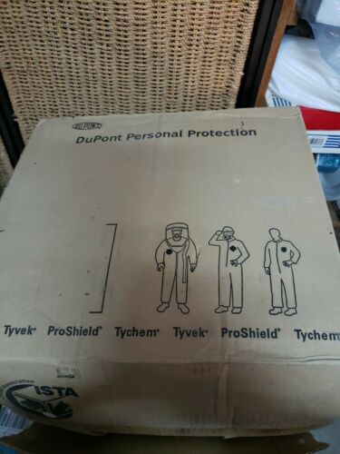 DuPont Tychem Personal Protection Coveralls  2x