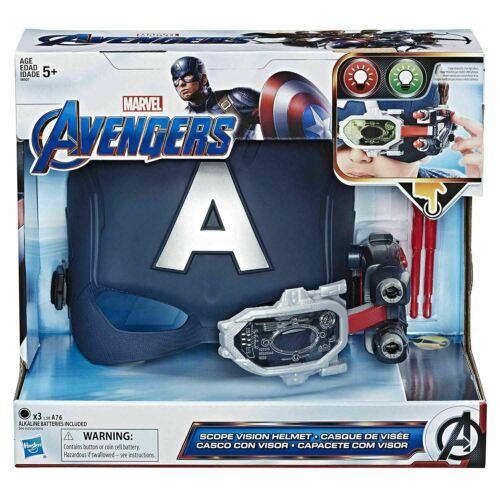 Marvel Avengers CAPITAN AMERICA Portata Visione casco con proiettili IDEA REGALO