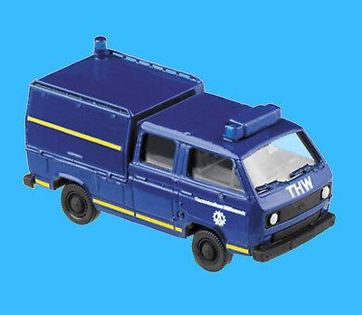 Roco H0 4120 VW T3 DoKa Sonderaufbau THW OVP HO 1:87 Volkswagen Herpa Minitanks