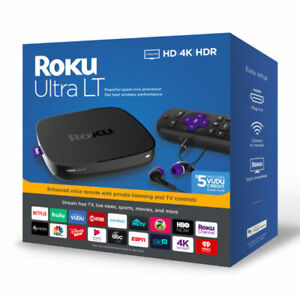 Roku Ultra LT 4662RW HD 4K HDR Streaming Media Player - New - Sealed 4662rw hdr media new player roku sealed streaming ultra