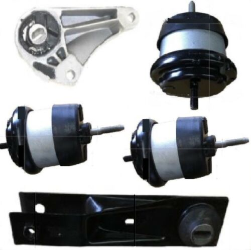 5PC ENGINE AND TRANSMISSION MOUNT FOR 2007-2008 GMC ACADIA 3.6L FAST FREE SHIP