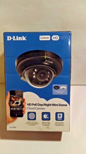 D-Link DCS6004L 1 MP HD Mini Dome IP Camera Dcs-6004l
