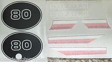 SUZUKI TS80 TS80ER DECAL SET 2