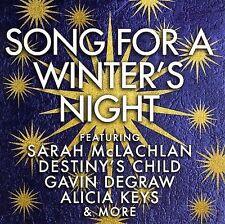 1 CENT CD VA Songs For A Winter's Night sarah mclachlan / alicia keys / play