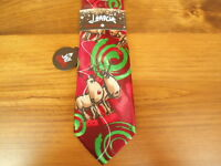 Mens J. Garcia Silk Blend Christmas Reindeer Tie