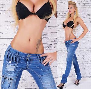 Women-039-s-Straight-Leg-Japrag-Designer-Jeans-24-XS-US-0-1