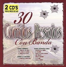 Various Artists: Regional M...-30 Corridos Pesados Con Banda CD NEW