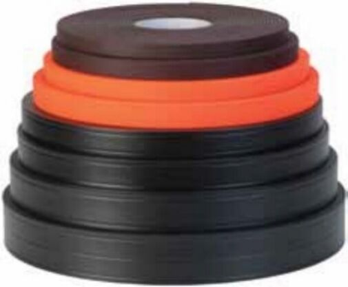 100 ft roll Weaver Soft Grip 1  schwarz- stronger than  thane  material made USA