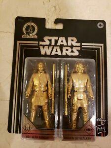 Star Wars Commemorative Edition Skywalker Saga Gold Obi-Wan & Anakin Set NEW!