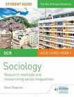 OCR Sociology Student Guide 2: Researching and Understanding Social Inequalities: 2 by Steve Chapman (Paperback, 2016)