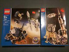 Lego 7469 and 7468 - Mission To Mars & Saturn V Moon Mission - NIB - Rare