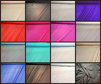 Print Power Mesh Net 4 Way Stretch Sheer Lycra Swimwear Lining Fabric Material