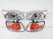 Driver Headlight for Corolla sedan AE110 E110 94 95 96 97 TOYOTA clear PA47 M8#G