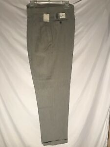dd52c19c3db10 Men s JcPenney City Streets Size 34 x 34 Black White Pleated Pants ...