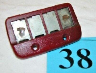 Camaro//Firebird Interior Rear Hatch Screws w// Nuts Set of 8 Carmine Red