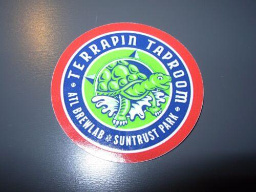 TERRAPIN Athens Georgia Taproom LOGO STICKER decal craft beer brewing brewery Papieren reclame Verzamelingen