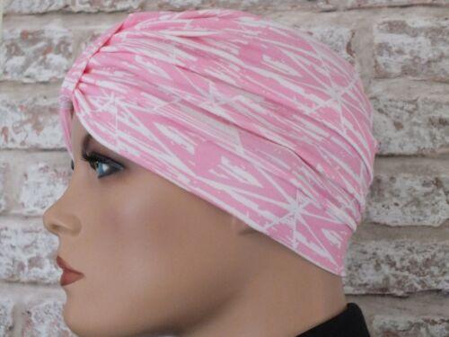 Headwear for  Hair Loss .Cancer Chemo turban Jersey Hat Leukemia