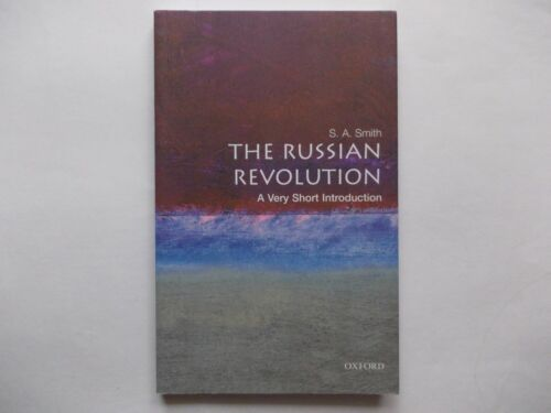 1 of 1 - THE RUSSIAN REVOLUTION  - A VERY SHORT INTRODUCTION | S. (STEVE) A. SMITH