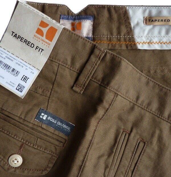 %%% HUGO BOSS Hose Gr.50 SEMINO-W Jeans LEINEN