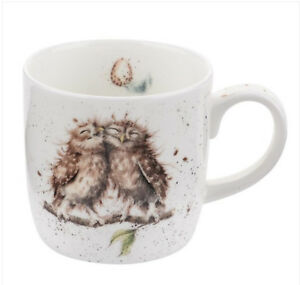"Wrendale Owl Mug ""Birds of a Feather"" Fine China"