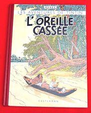 Les aventures de Tintin. Fac similé L'Oreille Cassée  EO couleurs de 1943
