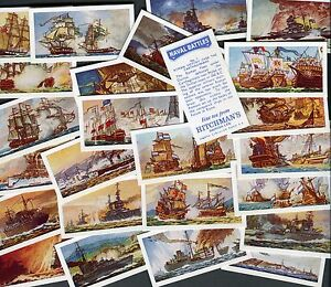 HITCHMANS DAIRIES 1971 SET OF 25 034NAVAL BATTLES034 TEA CARDS - <span itemprop=availableAtOrFrom>Nottingham, United Kingdom</span> - HITCHMANS DAIRIES 1971 SET OF 25 034NAVAL BATTLES034 TEA CARDS - Nottingham, United Kingdom
