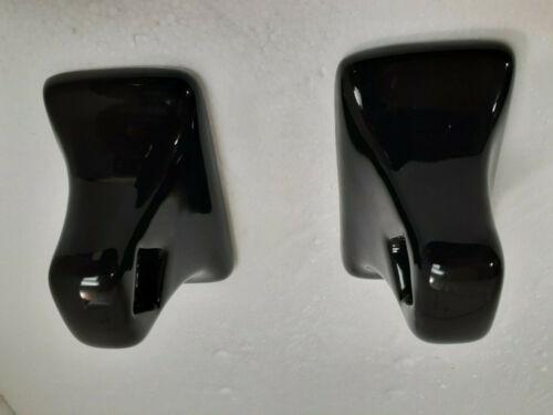 Black Ceramic Towel Bar Rod Holders Rack Post Flat Back Adhesive Mount White Bar