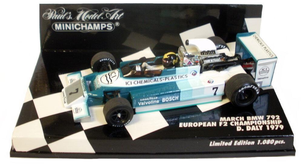 Minichamps March BMW 792 European F2 Championship 1979 - Derek Daly 1 43 Scale