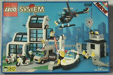 Lego Town Classic Town POLICE 6598 Metro PD Station New Sealed