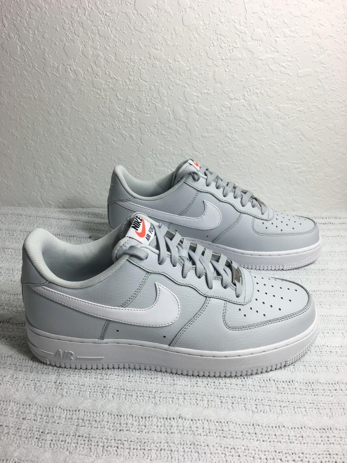 Nike air force 1 bianchi disco di platino / bianchi 1 dimensioni 9.5 nuovi 488298 091 4ecdc1