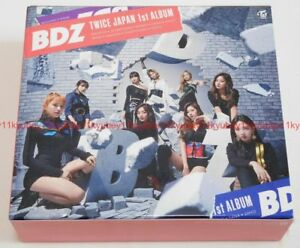 Details about New TWICE BDZ First Limited Edition Type A B C Set CD DVD  Booklet Card Box Japan