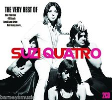 SUZI QUATRO ( NEW SEALED 2 x CD SET ) THE VERY BEST OF / GREATEST HITS