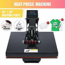 Diy Digital Clamshell T Shirt Heat Press Machine Sublimation Transfer 15x15