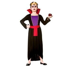 Diy Halloween Costumes For Girls Age 11 13.Details About Child Wicked Queen Evil Snow White Fancy Dress Costume Girls Fairy Tale Age 5 13