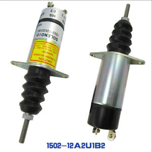 NEU-Kraftstoff-Absperr-Stop-Magnetventil-1502-12A2U1B2-12v-fuer-Woodward